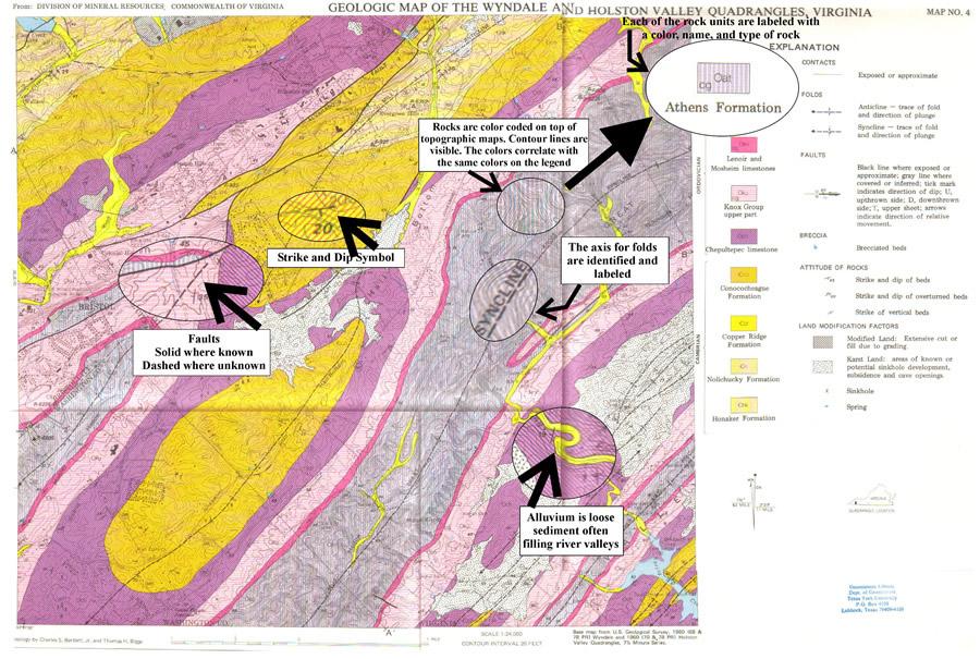 Dinojim Geology Stage 33 Geological Maps