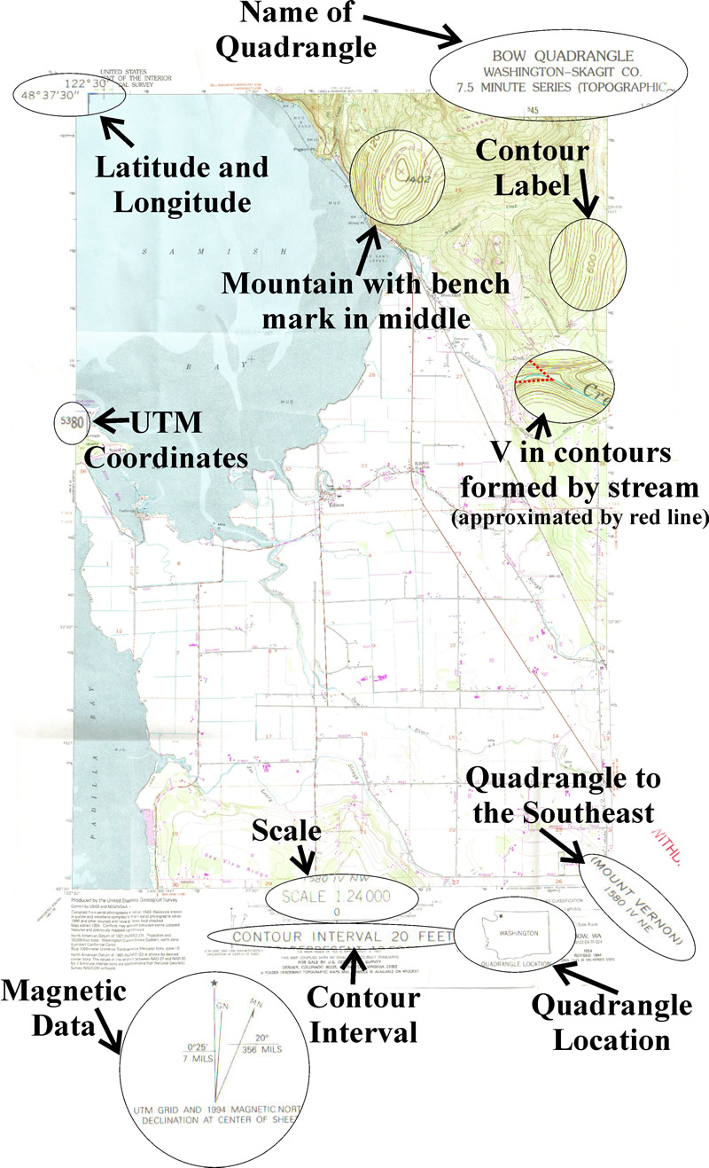worksheet Topographic Map Worksheet dinojim com geology stage 3 2 topographic maps topo map example